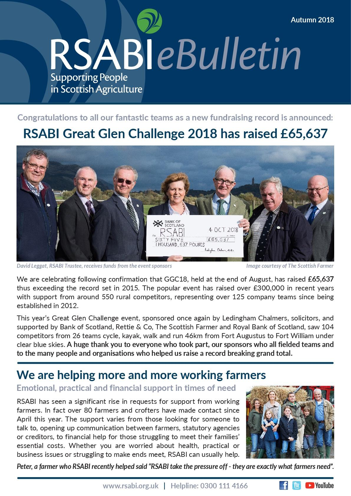 RSABI eBulletin Autumn 2018