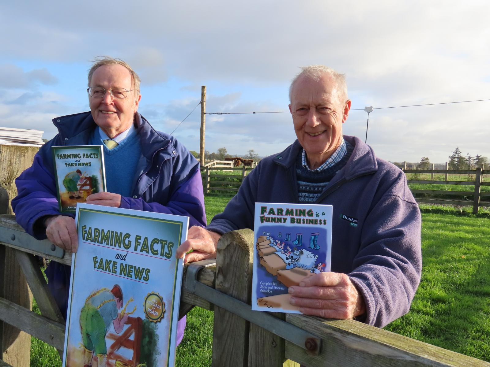 Industry support sought for new charity farming tales book