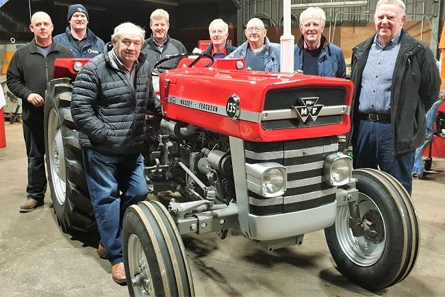 Vintage tractor set to be auctioned for RSABI